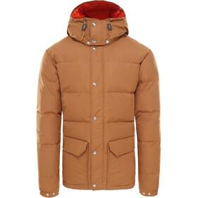 The North Face Sierra Down Jacket Herr Cedar Brown/Papaya Orange